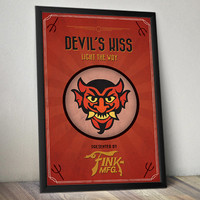 Bioshock Infinite Inspired Poster - Devils Kiss Vigor