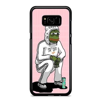 Aesthetic Pepe 1 Samsung Galaxy S8 Plus Case
