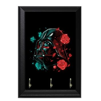 Dark Side Of The Bloom Decorative Wall Plaque Key Holder Hanger