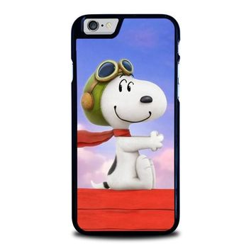 snoopy dog iphone 6 6s case cover  number 1