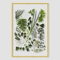 Still Acrylic Wall Art - Spring Botanicals