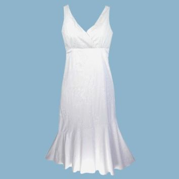 ulu white hawaiian aolani dress
