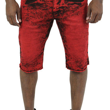 Jordan Craig Men's Robins Tie Dye Denim Jean Shorts