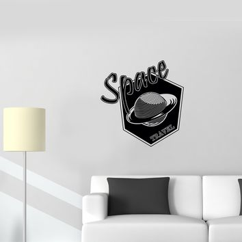 Wall Decal Planet Galaxy Space Travel Astronomy Universe Vinyl Sticker (ed906)
