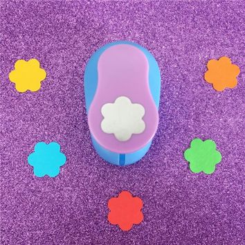 "Free Shipping 1""(2.4cm) Flower shape EVA foam punches paper punch for greeting card handmade DIY scrapbook craft punch machine"