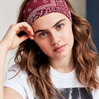 Bandana Headwrap | Urban Outfitters