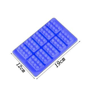Blocks Silicone Building Mold For Cake