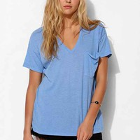 Truly Madly Deeply V-Neck Slouch Pocket