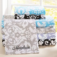Damask Sheet Set