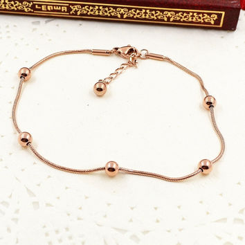 New Arrival Stylish Great Deal Hot Sale Gift Shiny Awesome Chain Anklet Korean Accessory Bracelet [8169867463]