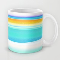 The Arctic Sea Abstract 2 Mug by Jen Warmuth Art And Design