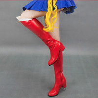 Cosplay Sailor Moon Transformer Senshi Boots Shoes Custom SP140896
