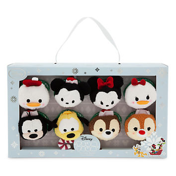 Mickey Mouse and Friends ''Tsum Tsum'' Plush Holiday Set - Mini - 3 1/2''