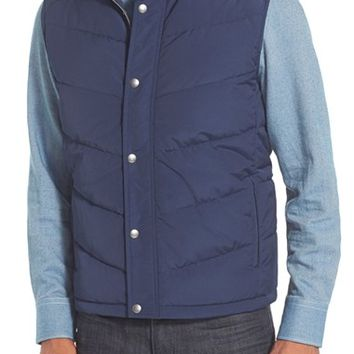 Men's Nordstrom Quilted Down and Feather Fill Vest,