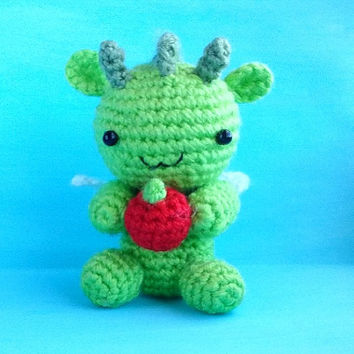 Dragon. Dragon Pattern. PDF file amigurumi crochet pattern. DIY handmade toy.