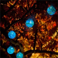Aurora String Lights Clear with White LED (461280010), Sustainable Outdoor Lighting, Solar Lights & More | bambeco