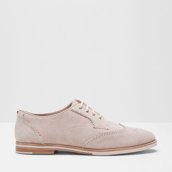 Lace-up brogues - Light Pink | Shoes | Ted Baker