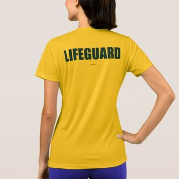 Lifeguard Women's Athletic T-Shirt