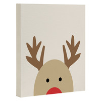 Allyson Johnson Reindeer Art Canvas