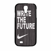 Nike Write Future Wood Samsung Galaxy S4 Case