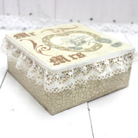 Wedding Box Bride Groom Gift Idea Keepsake Card Box White Accessories For The Wedding