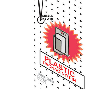 Plastic Packaging Pin