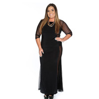Women's Plus Size Sweet Leah Lace Dress Large Big Size Clothing Women New 2017 Summer Autumn Flare Skater Elegant Sleeve