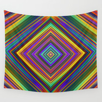 Sparkly Diamond Wall Tapestry by Lyle Hatch | Society6