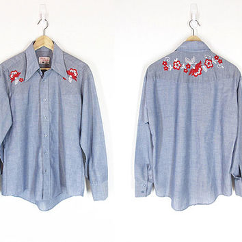 Vintage Embroidered Shirts 88