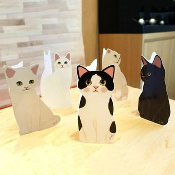 3D Pop-Up Cat Greeting Card