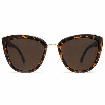 Quay Eyeware My Girl Sunglasses in Tortoise Shell