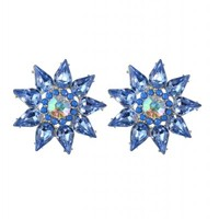 8 Other Reasons - Van Gogh Earrings in blue | SHOWPO Fashion Online Shopping