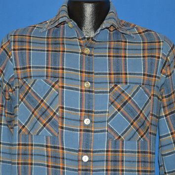 70s Big Mac JC Penney Flannel Men's shirt Small