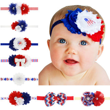 Children headband _ baby diamond baby headband independent day children headband girl hair ornaments [11550527759]