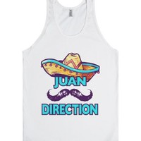 Juan Direction-Unisex White Tank