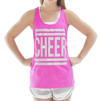 Berry Glitter Loose Tank