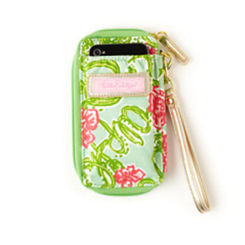 Sorority Carded ID Wristlet- Alpha Chi Omega - Lilly Pulitzer