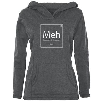 Meh Periodic Table Womens Pullover Hoodie