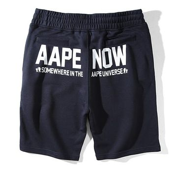 Boys & Men Aape Fashion Casual Sport Shorts