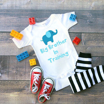 Big brother in training, big brother, promoted to big brother, little brother, sibling, pregnancy announcement, baby shower gift, siblings