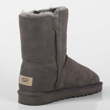 UGG 2018 winter new plus velvet short tube trend women's anti-fall snow boots