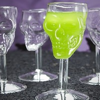 Shocktails - Set of 4 Skull Shot Glasses