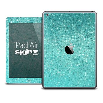 The Turquoise Mosaic V1 Skin for the iPad Air