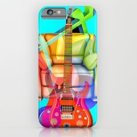 Play My Guitar iPhone & iPod Case by Macsnapshot