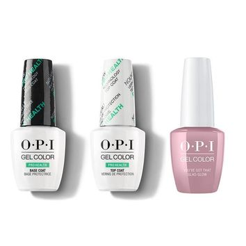 OPI - GelColor Combo - Base, Top & You've Got That Glas-glow