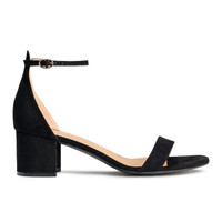 H&M Ankle-strap Sandals $29.99