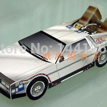 Movie Back To the Future Dr Barlett Car Paper Models