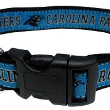 Carolina Panthers Collar Small