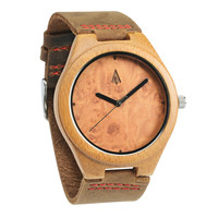 Wooden Watch // Maple Burl Plain