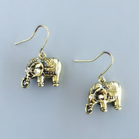Adorable Elephant Earrings